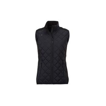 Black/Black - 99548 Elevate Womens Shefford Heat Panel Vest | Imprintables.ca