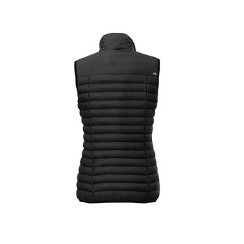 Black - back, 99557 Roots73 Women's Eaglecover Down Vest | Imprintables.ca