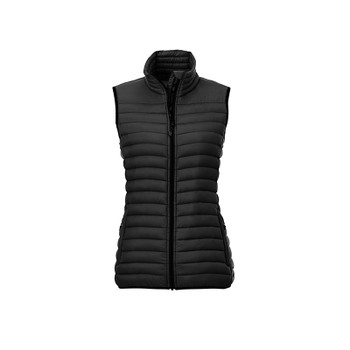 Black - 99557 Roots73 Women's Eaglecover Down Vest | Imprintables.ca
