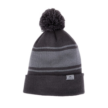 Charcoal/Quarry - 36008 Roots37 Unisex Parktrail Knit Toque | Imprintables.ca