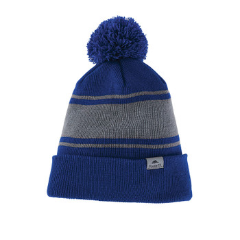 Cobalt/Quarry - 36008 Roots37 Unisex Parktrail Knit Toque | Imprintables.ca