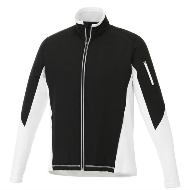 White/Black Sonoma Hybrid Knit Jacket