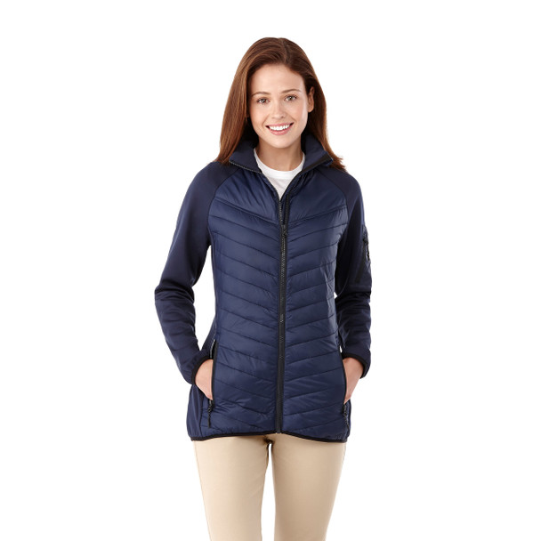 99602 Banff Women's Hybrid Insulated Jacket