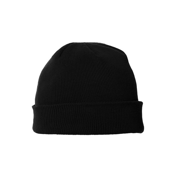 Black - 36105 Elevate Unisex Endure Knit Toque | imprintables.ca