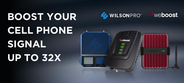 Wilson Amplifiers | Free Shipping w/ 90 Day Money Back Guarantee