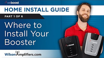 where to install signal booster