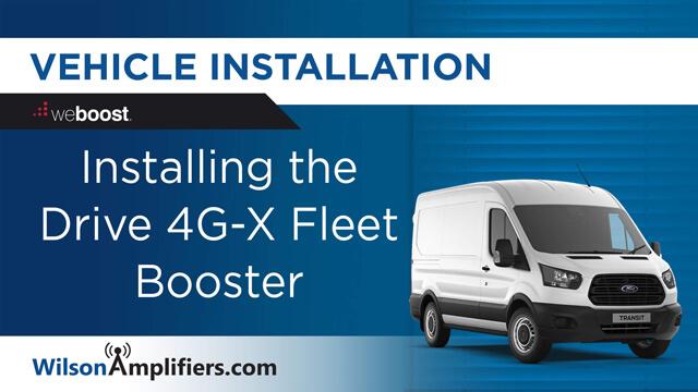 Install Drive 4G-X Fleet