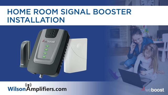 Install weBoost Home Room