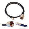 Wilson 951110 2-Foot Black Extension Cable RG58U Low Loss Foam Coaxial w/ N-Male ÌÎå«ÌÎ_ÌÎÌ_ÌÎåÌÎÌ_ÌÎå´ FME Female Connectors, detail