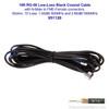 Wilson 951120 10-Foot Black Extension Cable RG58U Low Loss Foam Coaxial w/ N-Male ÌÎå«ÌÎ_ÌÎÌ_ÌÎåÌÎÌ_ÌÎå´ FME Female Connectors, label