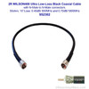 Wilson 952302 2-Foot WILSON400 Ultra Low Loss Coaxial Cable N Male ÌÎå«ÌÎ_ÌÎÌ_ÌÎåÌÎÌ_ÌÎå´ N Male Black, label