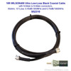 Wilson 952310 10-Foot WILSON 400 Ultra Low Loss Coax Cable N Male ÌÎå«ÌÎ_ÌÎÌ_ÌÎåÌÎÌ_ÌÎå´ N Male Black, label