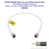 Wilson 952402 2-Foot WILSON400 Ultra Low Loss Coaxial Cable N Male ÌÎå«ÌÎ_ÌÎÌ_ÌÎåÌÎÌ_ÌÎå´ N Male White, label