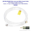 Wilson 952420 20-Foot WILSON400 Ultra Low Loss Coaxial Cable N Male ÌÎå«ÌÎ_ÌÎÌ_ÌÎåÌÎÌ_ÌÎå´ N Male White, label