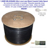 Wilson 952301 1000-Foot WILSON400 Ultra Low-Loss Coaxial Cable Bulk - Black, label