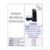Wilson 301208-B, Desktop Antenna w/FME-Male / TNC-Male (replaces 301209), specs