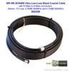 Wilson 952350 50-Foot WILSON400 Ultra Low-Loss Coaxial Cable Male-Male - Black, label