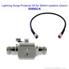 50 Ohm Lightning Surge Protector Kit for building installations, Wilson 859902-K, with label