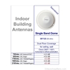 Wilson 301123 Inside Building Dome Ceiling Antenna Dual Band, specs