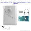 Wilson 314473 Weather-Resistant Panel Antenna with Pole Mount, 75 ohm for residential installations, WA314473, with label