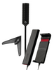 weBoost Drive Sleek OTR 4G Cell Phone Booster Kit w/ HD TV Trucker Antenna Bundle- 470235-B2
