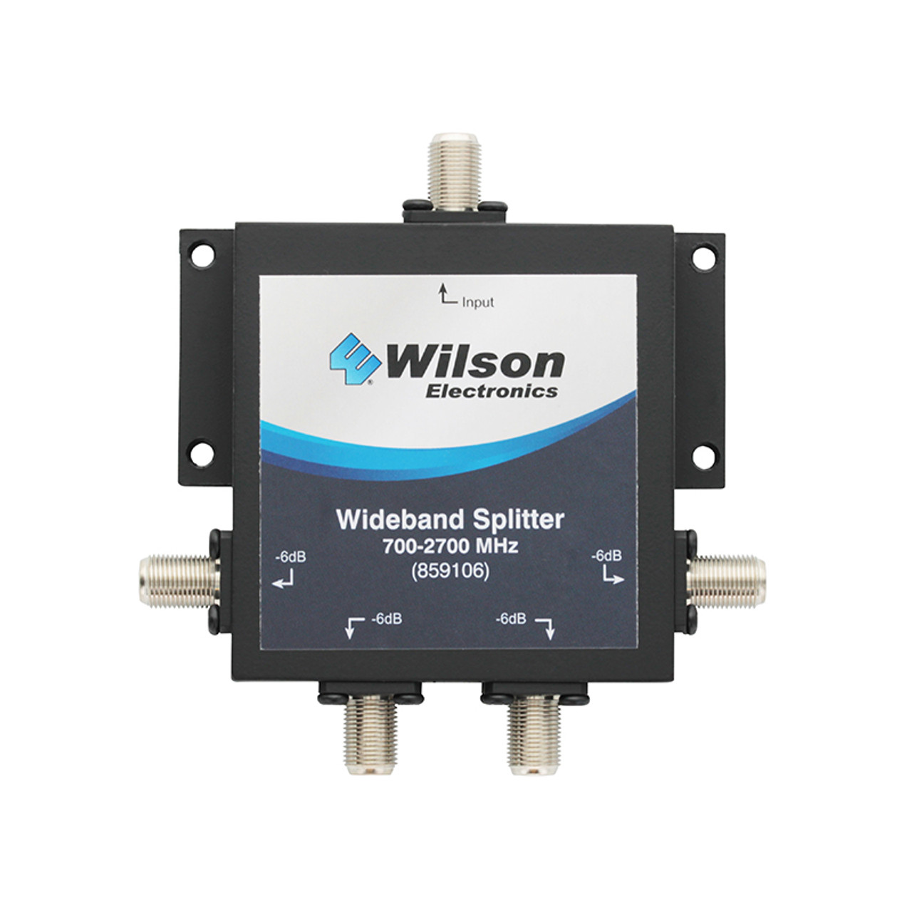 Wideband 4-Way Splitter with F-Female Connector