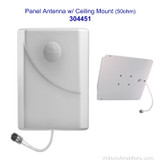 Wilson 304451 Ceiling Mount Panel Antenna 700-2700 MHz 50 Ohms Multi Band, with label