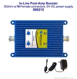 Wilson 806215 19dB Adjustable Gain 800/1900 MHz In-Line Post-Amp booster, with label