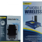 Mobile Wireless Bundle Wilson 801212-K, +50dB gain vehicle wireless amplifier system with Low Profile & Cradle Plus antennas, retail packaging front