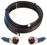 Wilson 952350 50-Foot Ultra Low-Loss Coaxial cable (black) w/ Male-Male Connector from WilsonAmplifiers.com
