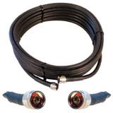 Wilson 952330 30-Foot Ultra Low-Loss Coaxial cable (black) w/ Male-Male Connector from WilsonAmplifiers.com