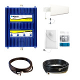 Wilson 803670-BL1 AG Pro Quint Band 4G, 3G and 2G (All Carriers) +75dB Building Signal Booster Kit (WA803670-BL1) from WilsonAmplifiers.com