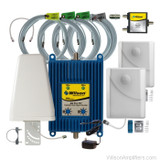 AG Pro 70 Amplifier Kit w/ 2 panel antennas, +70dB - 801265-BL2, wilson 801265-BL2, main