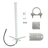311201 Wide Band Omni Antenna 75 ohm F Connector, Kit
