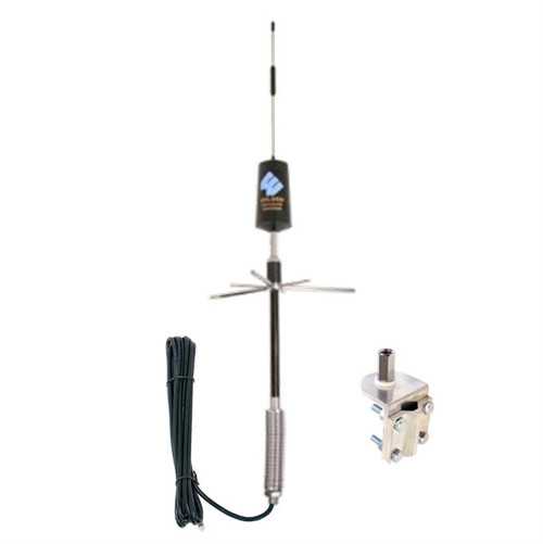 308433 Wilson Trucker/RV Spring-Mount Antenna Kit w/3-Way Mount Dual Band, detail
