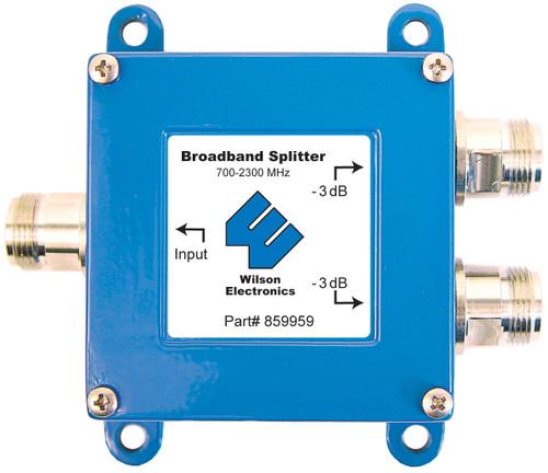 Wilson 859959 -3 dB Splitter 75ohm Wide Band 700-2300 Mhz