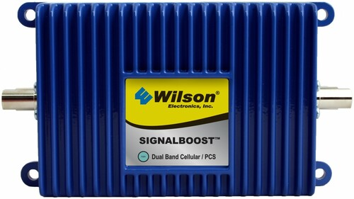 Wilson 811910 SignalBoost Direct Connect 25 dB Amplifier ÌÎå«ÌÎ_ÌÎÌ_ÌÎåÌÎÌ_ÌÎå´ European Dual Band 900/2100 MHz