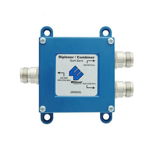 Quint Band Combiner/Diplexer, 600-960/1630-2300MHz - 859922