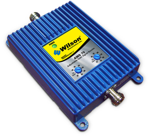 Wilson 802365 AWS 70 Adjustable Gain 70 dB 1700/2100 Band Signal Amplifier