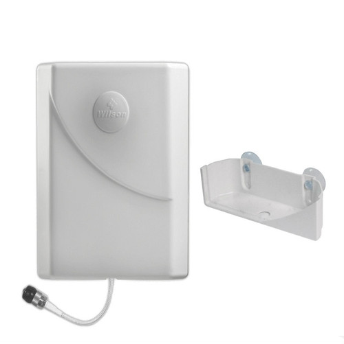 Wilson 304472 Suction-Cut Outside-facing Window Mount Panel Antenna 75 ohms Multi Band, main image