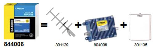 Wilson 844006 Building Wireless 60dB Amplifier Kit Nextel/iDen Band