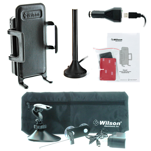 Wilson Sleek 3G +26dB Amplifier Kit w/ Home & Office Accessory Kit - 460106-H - Complete Kit