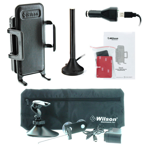 Wilson Sleek 3G +26dB Amplifier Kit w/ Home & Office Accessory Kit - 460106-H - Complete Kit