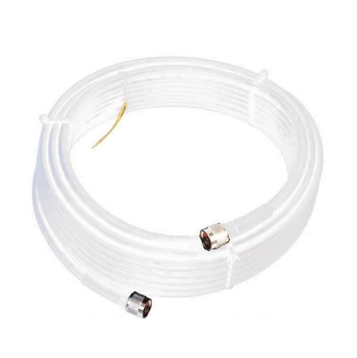 Wilson 952450 50-Foot WILSON400 Ultra Low-Loss Coaxial Cable Male-Male - White, main