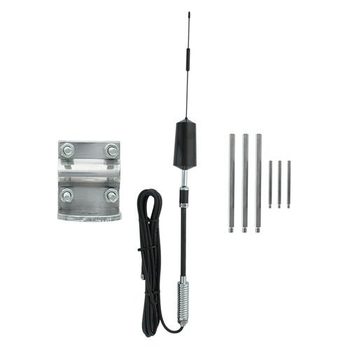 318433 Wilson Trucker/RV Spring-Mount Antenna Kit w/3-Way Mount Dual Band, Main Image