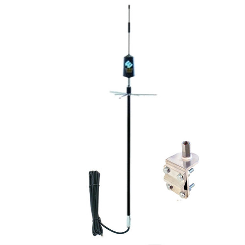 Wilson 308401 Mirror Mount Trucker Antenna w/3-Way Mount Dual Band, main