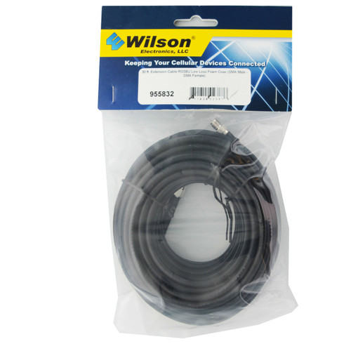 Wilson 30' RG58 Low Loss Coax Cable Extension SMA Male - SMA Female | 955832