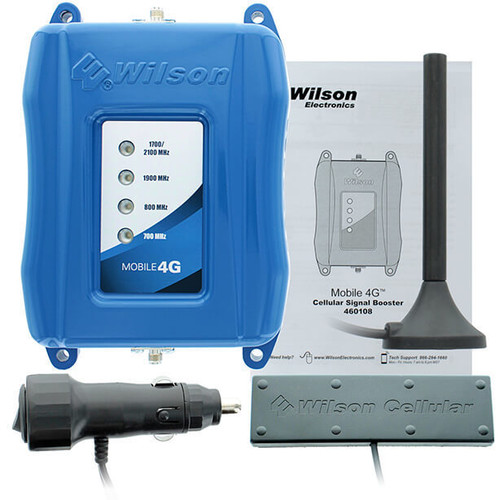 Wilson Mobile 4G Cell Phone Booster Kit (Refurbished) - 460108R