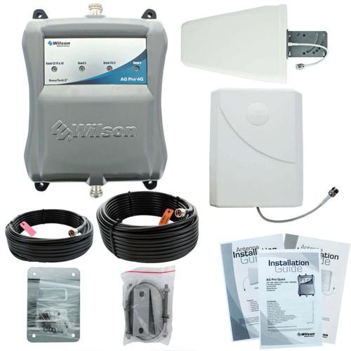 Wilson AG Pro 4G Quint +70dB Amplifier Kit - 461104 - Complete Kit