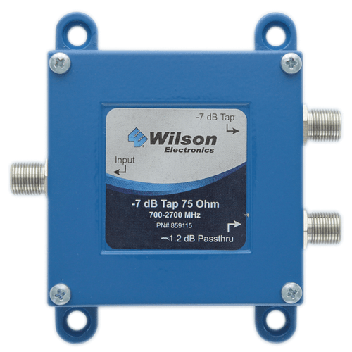 Wilson Electronics -7dB Tap (Wide Band) 75 Ohm F-Connector - 859115